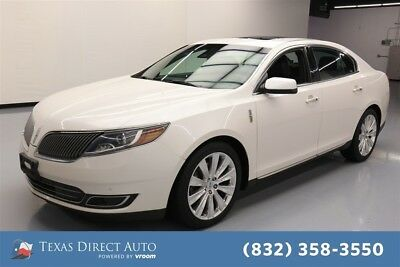 2015 Lincoln MKS EcoBoost Texas Direct Auto 2015 EcoBoost Used Turbo 3.5L V6 24V Automatic AWD Sedan