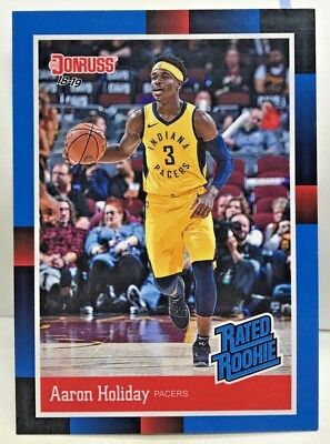 ddd1600492f1 Aaron Holiday 2018-19 Panini Instant 1988 Donruss Rated Rookie Retro RC   RR21 SP