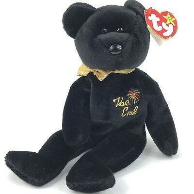 """a2fdc1cd77a Ty Beanie Babies """"The End"""" Bear Rare Errors Retired Mint Collectible Gift"""
