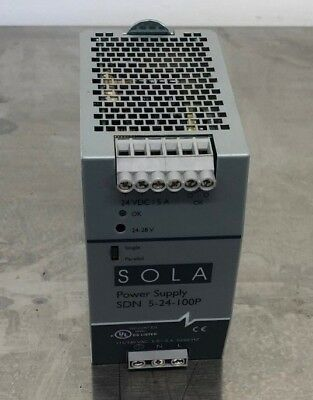 Sola Power Supply SDN5-24-100P
