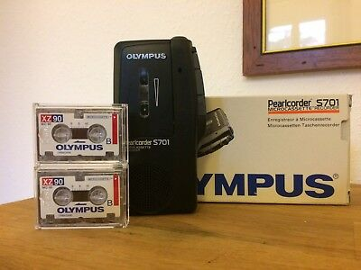 Olympus Pearlcorder S701 Microcassette Recorder