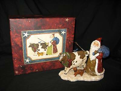 1999 First Edition Lang Santa Figurine – By Debbie Hron – Old Glory Collection