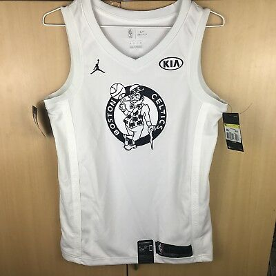 100% authentic 55f43 67870 NBA KYRIE IRVING All-Star Edition Swingman Jersey White Sz ...