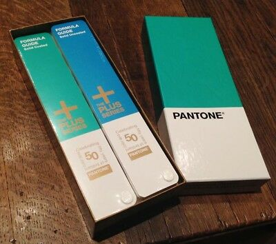 2 x PANTONE THE PLUS SERIES Coated & Uncoated