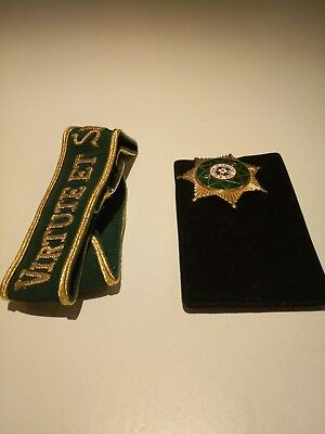 Royal Order of Scotland breath star and arm band