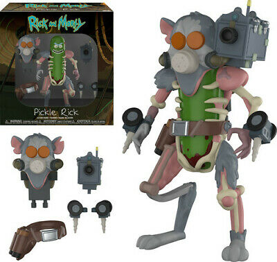 FUNKO ACTION FIGURE: Rick & Morty - Pickle Rick [New Toys] Vinyl Figure