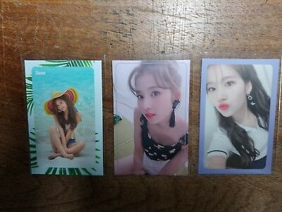 TWICE Summer Nights 2nd Special Album Official Photocards SANA Kpop