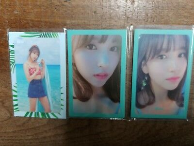 TWICE Summer Nights 2nd Special Album Official Photocards Mina Kpop