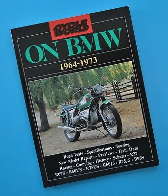 1964-73 BMW Motorcycle Road Tests Cycle World Book R27 R90S R75/5 R60/5 R60US