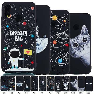 Slim Fit Silicone Phone Case Shockproof Cover Skin For Huawei P Smart P20 Lite