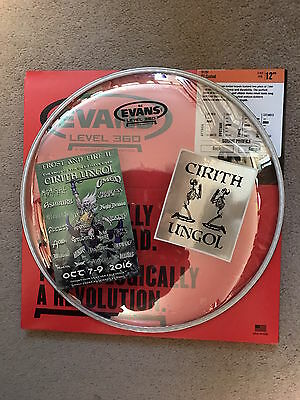 CIRITH UNGOL drum head Frost & Fire King of the Dead Paradise Lost Robert Garven