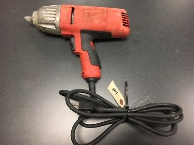 Milwaukee 9071 20 1 2 Electric Impact Wrench Gun Used Tool Rim Wheel