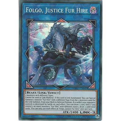 Yu-Gi-Oh TCG: Folgo, Justice Fur Hire - SOFU-EN047 - Super Rare Card - Unlimited