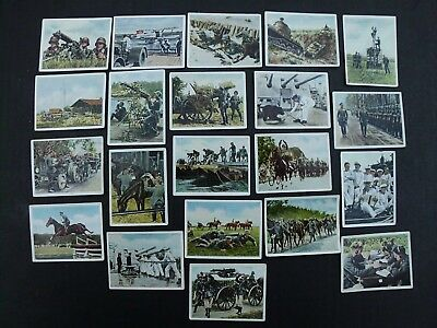 20 German Army Navy Air Force Cigarette Tobacco Cards Photos 1936 Wehrmacht Wwii