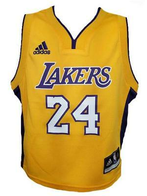 642dd264cec New Kobe Bryant Los Angeles Lakers Kids Toddler Sizes 2T-3T-4T Adidas Jersey