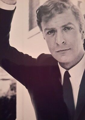 Michael Caine Actor Young Iconic A4 Poster Picture Print A4 Wall Art