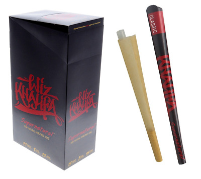 RAW Classic WIZ KHALIFA Supernatural Cone - Box 15 PACK - PreRoll Foot Long
