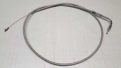 Harley Softail Wide Glide Idle Cable Armor Coat Motion Pro 0651-0324 *NEW*