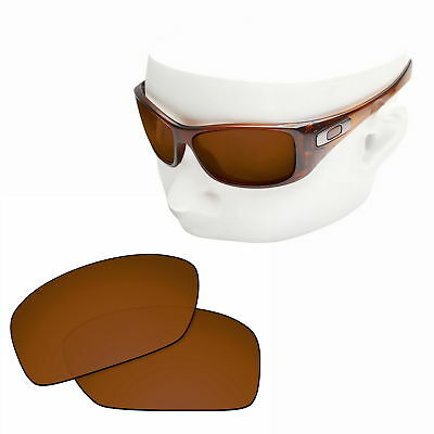 33045686b1c OOWLIT Replacement Sunglasses Non-Polarized Lenses for-Oakley Hijinx - Brown