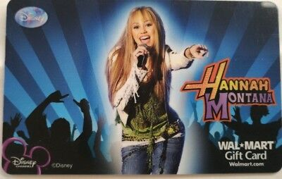 Hannah Montana Gift Card, Vintage Collectible                              (QQ)