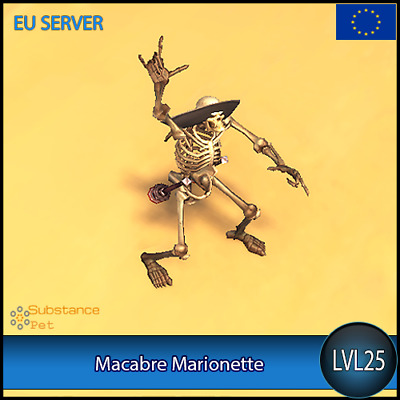 Macabre Marionette lvl25 Pet | All Europe Server | WoW Warcraft
