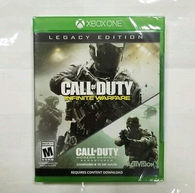 "Call of Duty: Infinite Warfare *Legacy Edition* (Xbox One, 2016) ""NEW/SEALED"""