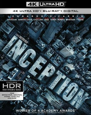 Inception [4K Blu-ray Disc Only in Paperboard Mailer]