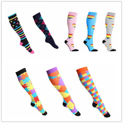 Compression Socks For Women Men 21-59CM Medical Nursing Travel Crossfit Sports
