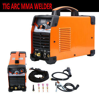 TIG Welder 200A ARC TIG IGBT Inverter DC TIG Welding Machine MMA Dual Voltage