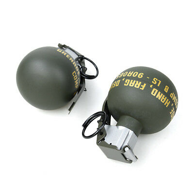 2PCS NYLON COSPLAY Tactical CQB Airsoft M-67 M67 Dummy Grenade Model Props  Toy