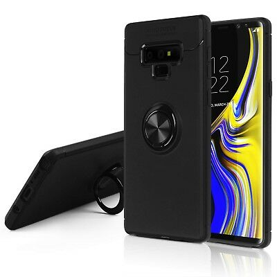 Shockproof Hybrid Phone Case with Ring Stand Holder For Samsung Note 9