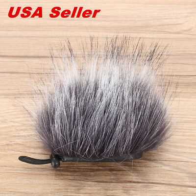 Pro Outdoor Dusty Microphone Furry Cover Windscreen Muff for ZOOM H1 from USA