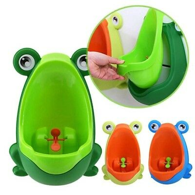 Cute Frog Potty Toilet Training Urinal for Kids Baby Boys Pee Trainer Bathroom