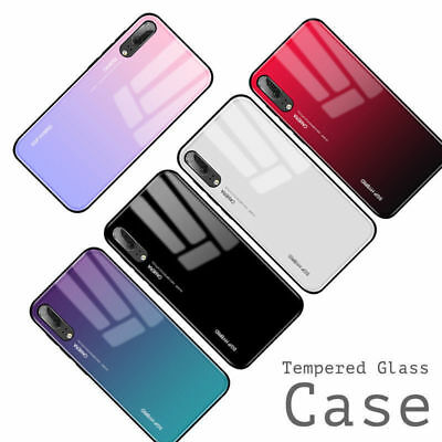 For Huawei mate20 Pro Lite P20 Lite Pro honor 8X Tempered GLASS Back Case Cover