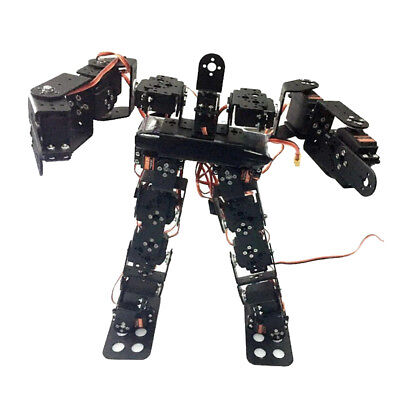 17DOF Biped Robot Dance Robot Kit Humanoids Walking Feet Servo Bracket Kits