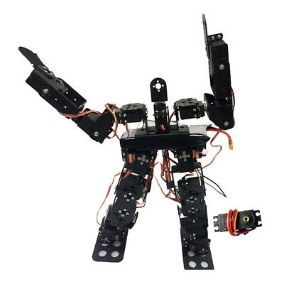 17DOF Biped Robot Dance Robot Kit Humanoids Walking / Feet Servo Bracket Kit