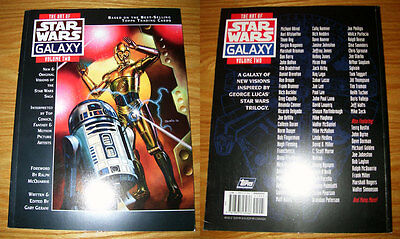 1994 Topps ART OF STAR WARS GALAXY Vol. Two Softcover Book First Edition 128-pg