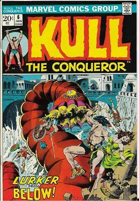 Kull the Conqueror #6 (Jan 1973, Marvel) VF-Only $2.00