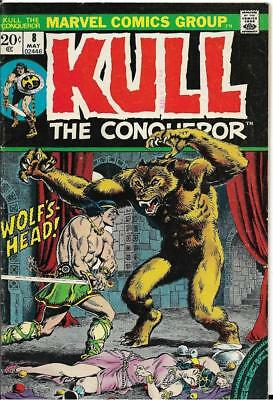 Kull the Conqueror #8 (May 1973, Marvel) VG- Only $1.00