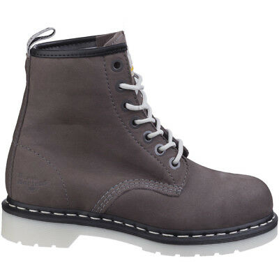 Dr Martens Womens/Ladies Maple Classic Steel-Toe Lace Up Safety Boots