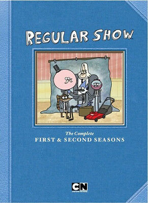 Regular Show: The Complete First and Second Seasons (Seasons 1 / 2) DVD NEW