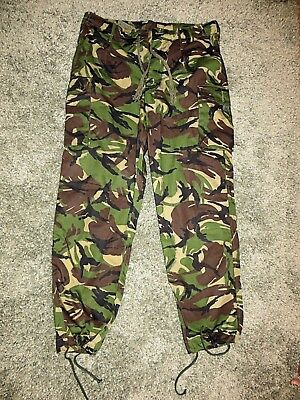 British Army Issue Woodland DPM CS95 Combat Trousers - Large 85/96/112 NEW