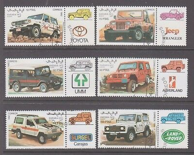 Sahara OCC R.A.S.D.Cancelled to order set 6 Cars 4 WD'S  with tabs.Jeeps,Toyota