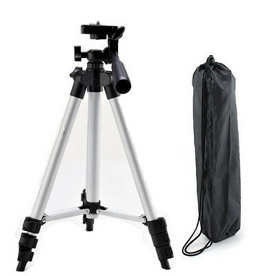 1M Portable 3-Way head Tripod Kit for Canon/Nikon/Sony DSLR DC Digital Camera