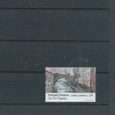 Briefmarken, Andorra span.Post, 2018,Brücken,?*