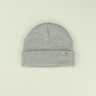 dcf1e7a200f2d CARHARTT STRATUS LOW Beanie Hat Winter Brand New – Grey - EUR 23