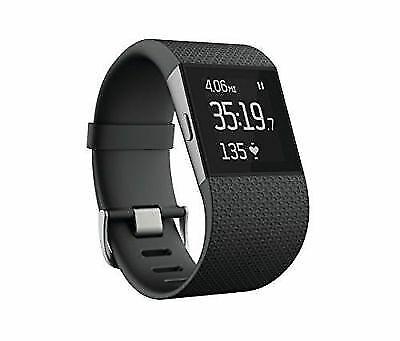 Fitbit Surge Fitness Superwatch Black Large/Small
