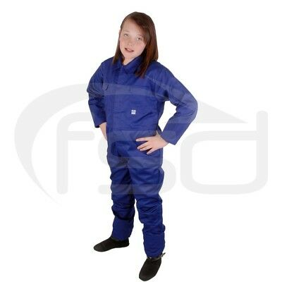 Royal Blue - New Kids / Childs Boilersuit / Overalls / Coveralls (Various Ages)