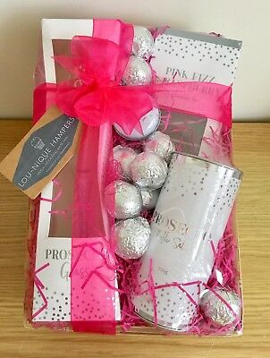 Prosecco Gift Pamper Hamper For Her Mum Wife Aunt Sister Christmas Birthday