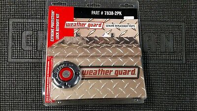 7838-2pk Weather Guard Replacement Tool Box Lock for Multiple Boxes - 2 PACK